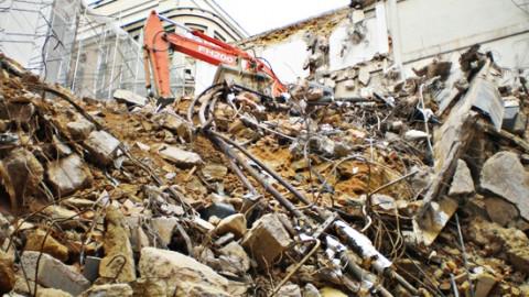 Gestão de resíduos da construção civil