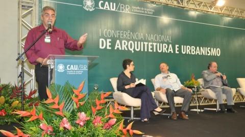 CAU/BR disponibiliza certificados da Conferência de Arquitetura e Urbanismo
