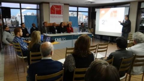 Seminário Nacional sobre salário mínimo de arquitetos acontece em setembro