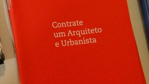 Cartilha Contrate um Arquiteto e Urbanista está disponível para download