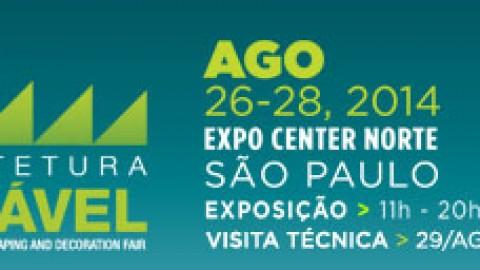 26 – 28 Agosto – Expo Arquitetura Sustentável