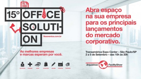 2 – 5 Setembro – 15º Office Solution Arquishow Facility Show