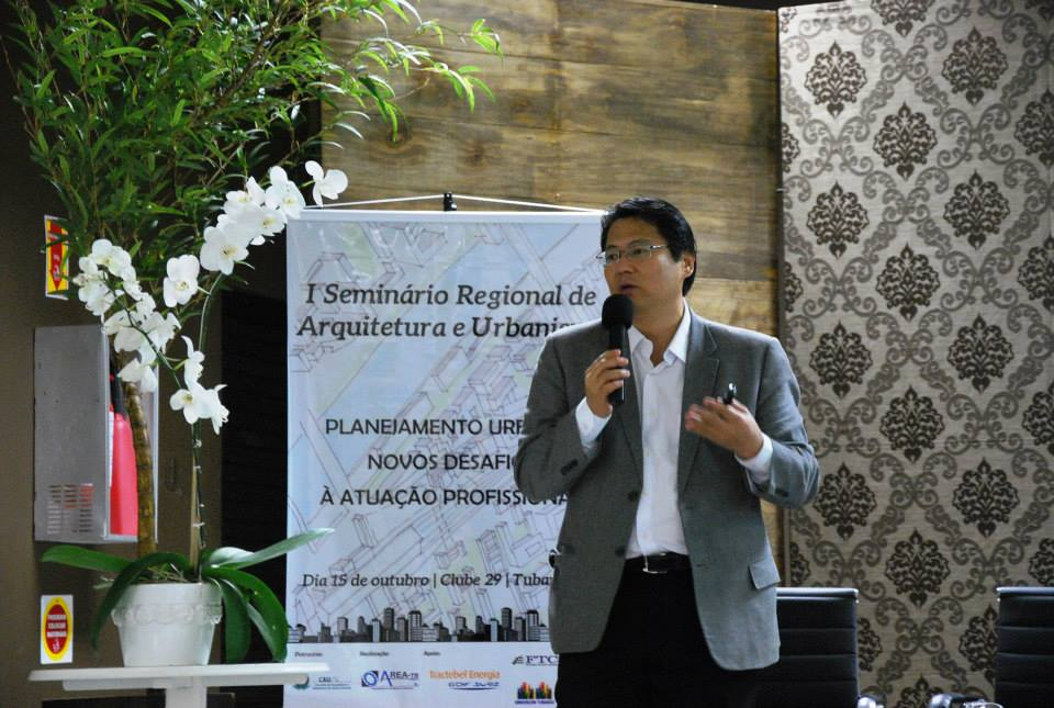 Professor arquiteto e urbanista, Kazuo Nakano.