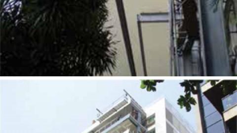 Apartamentos no Leblon, no Rio de Janeiro, ganham valorização de até 30% após a inserção de varandas metálicas na fachada