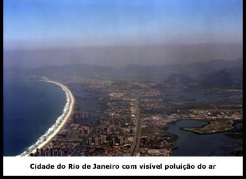 Nível de poluição no RJ é o dobro do recomendado pela OMS, aponta pesquisa