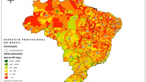 Números de RRTs indicam: arquitetos e urbanistas já atuam em todo o Brasil