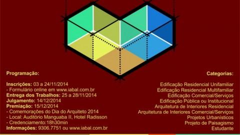 Inscrições abertas para a XVIII MOSTRA DE ARQUITETURA ALAGOANA