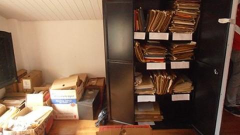 Arquivo histórico da FENEA é transferido para a sede do SASP