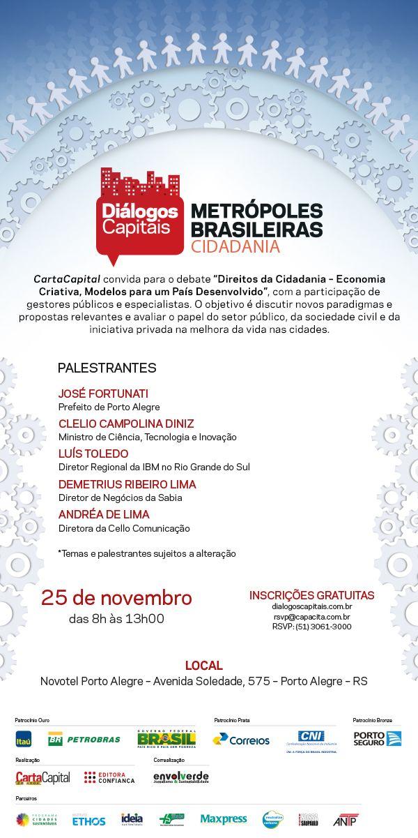 metropolis brasileiras cidadania