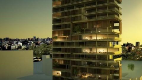 Escritório brasileiro Arthur Casas projeta torre residencial em Lima, no Peru