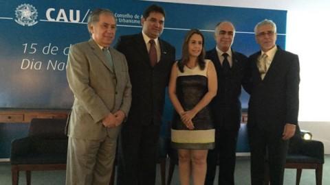 Conselheiros federais tomam posse em Brasília