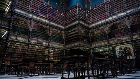 """Biblioteca Nacional do Rio de Janeiro entre as 50 """"mais majestosas"""" do mundo segundo a A&D"""