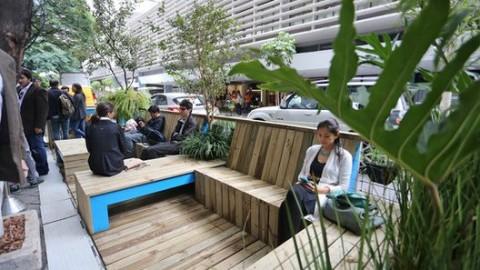 """Rio autoriza a construção de """"Paradas Cariocas"""" inspiradas em parklets"""