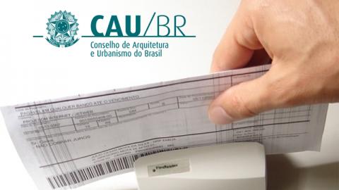 Confira as condições para pagamento da Anuidade 2015 do CAU fora do prazo