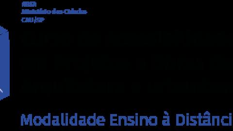 CURSO DE ACESSIBILIDADE EM PROJETOS E OBRAS DE ARQUITETURA E URBANISMO (EAD)