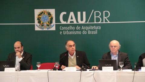 Assista ao vivo 44ª Plenária do CAU/BR, a partir desta quinta-feira