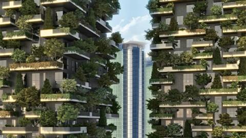 Bosque suspenso de Milão pode indicar futuro arquitetônico das metrópoles