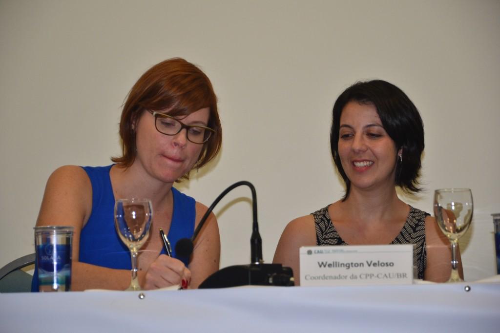 Fabricia Zulin e Renata Coradin, do Habitar Arquitetas Associadas