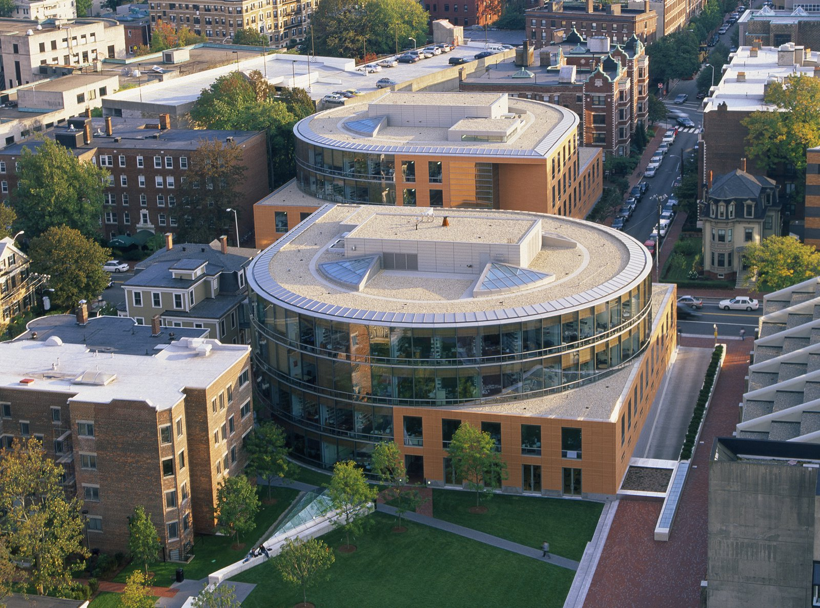 Center for Government & International Studies, Harvard University _ Pei Cobb Freed & Partners.