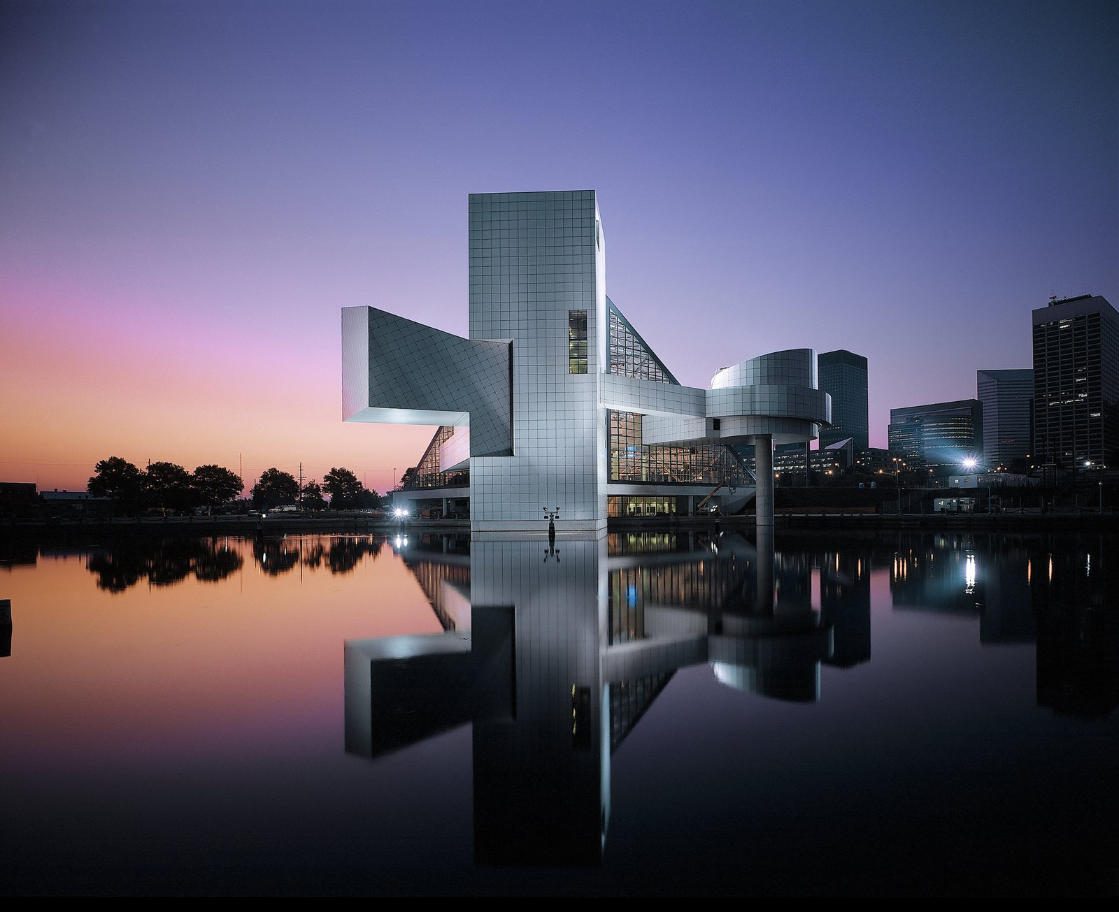 Rock and Roll Hall of Fame and Museum _ Pei Cobb Freed & Partners
