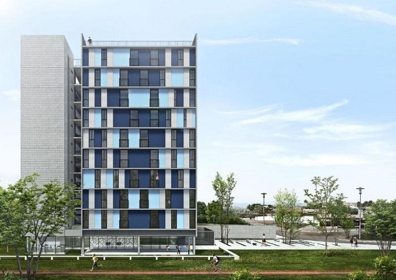 Projeto vencedor do Concurso da Codhab-DF para projeto de unidades habitacionais em Samambaia – MCA Arquitetura e Design