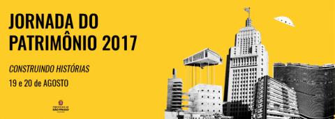 Jornada do Patrimônio 2017 acontece neste final de semana na capital paulista