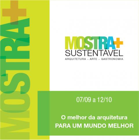 Campinas recebe Mostra + Sustentável a partir de 07/09